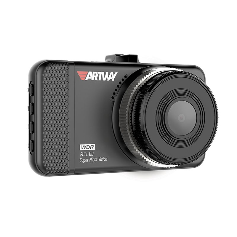 Видеорегистратор Artway AV-391, FullHD 1920*1080,30 к./сек., Super Night Vision, функция WDR