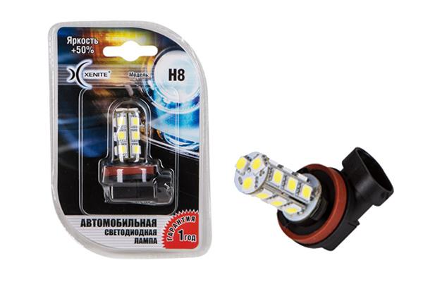Светодиодные лампы с цоколем H8